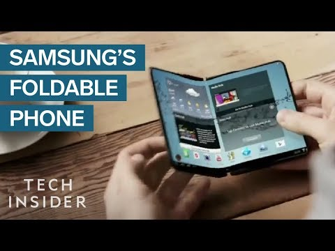 Everything We Know About Samsung's Foldable Phone
