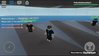 Playing Roblox, I haven't won a match