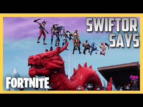 Swiftor Says in Fortnite Creative #4! Double Trouble!