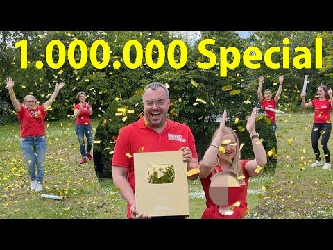 1.000.000 Abonnenten-Special - Gemeinsam haben wir es geschafft! #Danke!