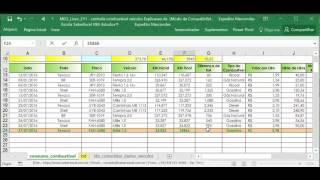 Excel vba planilha Controle Combustivel Veículos