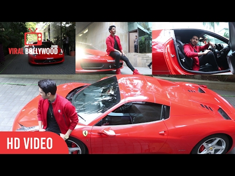 Armaan Malik Grand Entry In Ferrari | AAJA NA FERRARI MEIN Song Launch