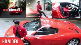 Armaan Malik Grand Entry In Ferrari | AAJA NA FERRARI MEIN Song Launch