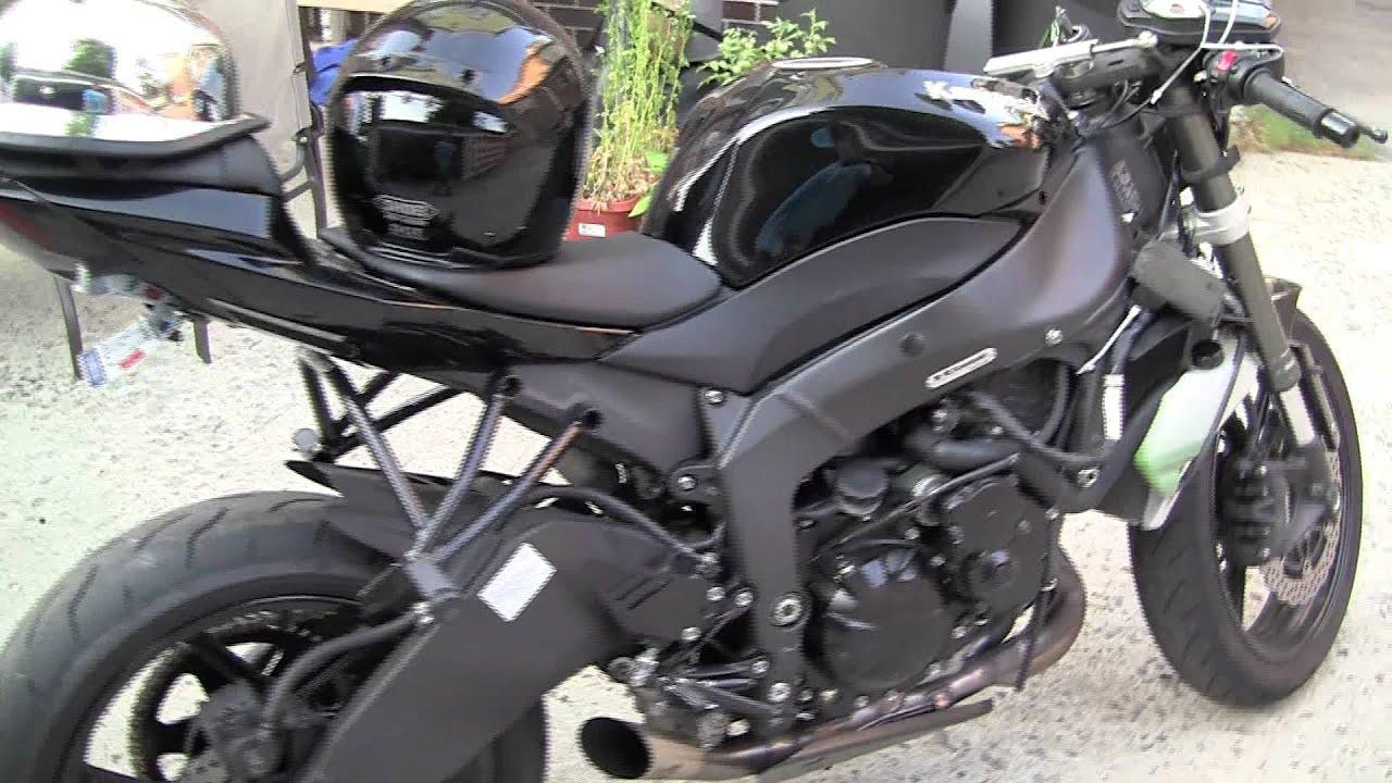 2009 KAWASAKI ZX6R STREET FIGHTER MTS