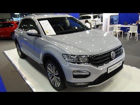 2018 Volkswagen T Roc 2.0 TDI 120 4Motion Exterior and Interior Salon Automobile Lyon 2017