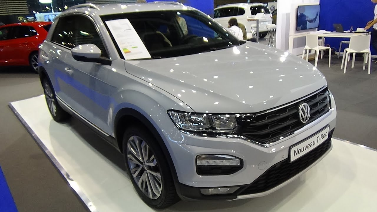 2018 volkswagen t roc 2 0 tdi 120 4motion exterior and. Black Bedroom Furniture Sets. Home Design Ideas