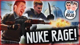 NUKE RAGE! | SKRZYDŁOWY z IZAKIEM w CS:GO