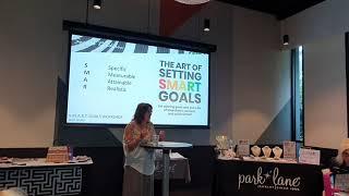 Mary - Goals work shop - Roadshow 2020