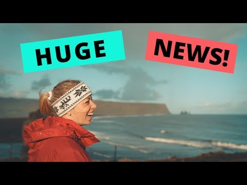 HUGE NEWS | Iceland Life Update