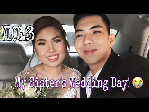 VLOG#3 : Mark & Jazzy's Much Awaited Wedding Day!