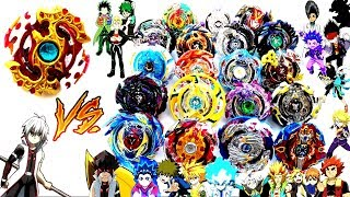 SPRIGGAN REQUIEM vs ALL BEYBLADE GOD LAYERS-Let's test it!Beyblade Burst Battle Evolutionベイブレードバースト神