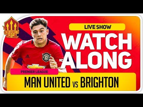 MANCHESTER UNITED vs BRIGHTON | With Mark Goldbridge LIVE