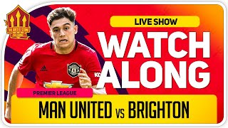 MANCHESTER UNITED vs BRIGHTON | With Mark Goldbridge LIVE
