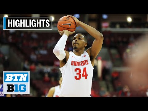 highlights:-kaleb-wesson-scores-13-in-win- -umass-lowell-at-ohio-state- -nov.-10,-2019