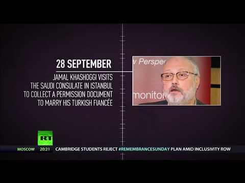 Timeline of Saudi journalist Jamal Khashoggi's disappearance