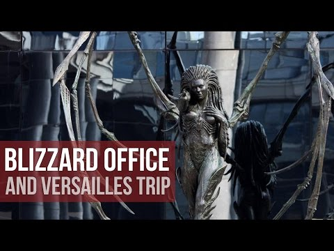 VISITING THE BLIZZARD OFFICE IN VERSAILLES!