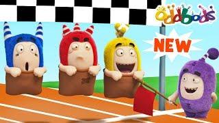 Oddbods - SPORTS DAY | Funny Cartoons For Children | Oddbods & Friends