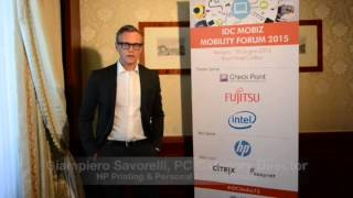 Videointervista a Giampiero Savorelli, PC Category Director, HP Printing & Personal Systems Group