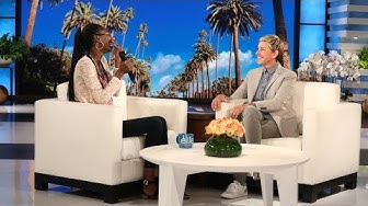 Ellen Taught This Fan How to Speak English