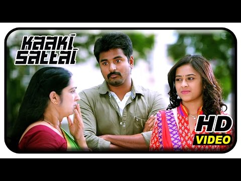 Kaaki Sattai Tamil Movie Scenes | Sri Divya Tricks Sivakarthikeyans Mom | Prabhu