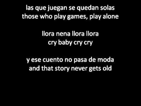 Daddy Yankee  Ella Me Levanto She Picked Me Up ENGLISHSPANISH lyricsletra