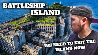 ABANDONED Battleship island nearly took my life (DEHYDRATION SETS IN BIG TIME)