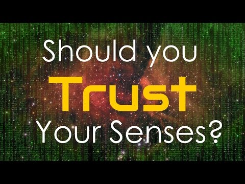 Should you trust the evidence of your senses?