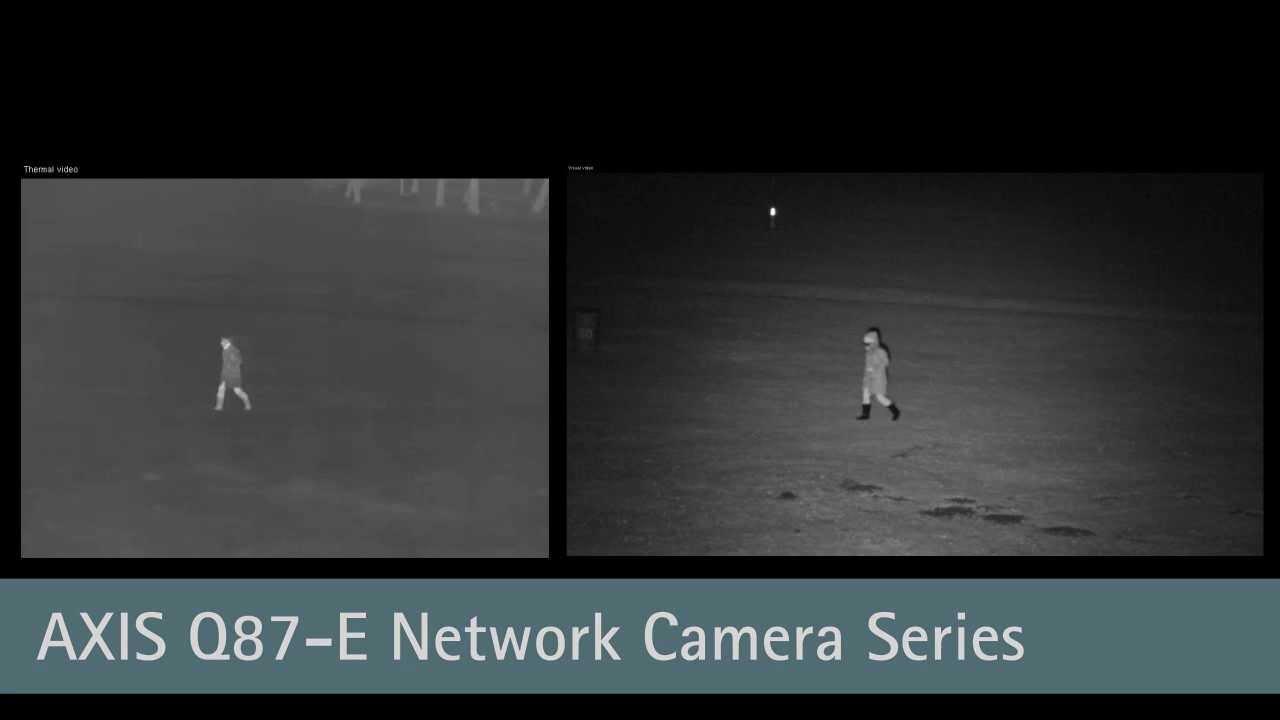 AXIS Q87-E Dual PTZ Network Cameras