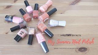 MY SUMMER NAIL POLISH | ANGELA