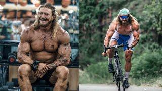 Самый брутальный велокачок в мире! Зачем качок сел на Велосипед