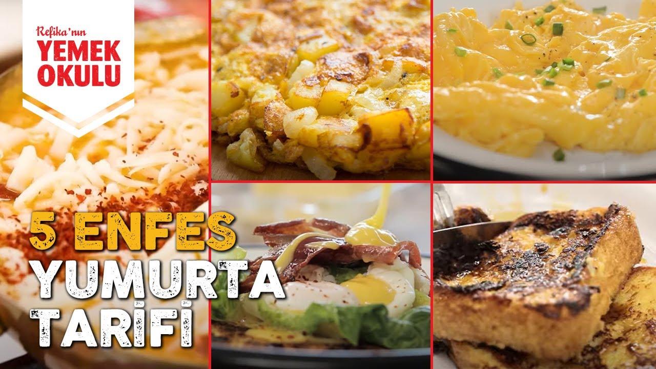 Kahvaltılık 5 Muhteşem Yumurta Tarifi! Menemen, Fransız Tostu, Çırpılmış Yumurta ve Poşe Tarifleri