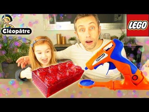 Cléo'GUN 3D Paint : Peinture en 3 dimensions, fabrication de LEGO et customisation habit ! Unboxing