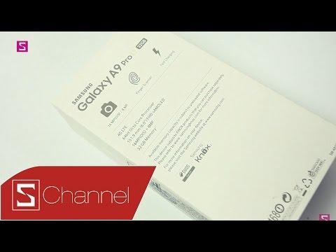 Schannel - Mở hộp Galaxy A9 Pro chính hãng ngày đầu bán ra tại Việt Nam