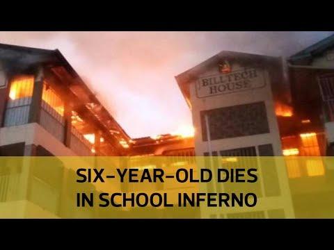Student dies in school building fire