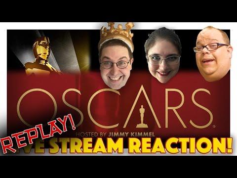 LIVE REACTON! The 89th Academy Awards Oscars 2017 (REPLAY)