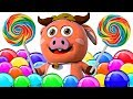 CANDY SONG | ORIGINAL SONG | 3D Nursery Rhymes For Kids By All Babies Channel