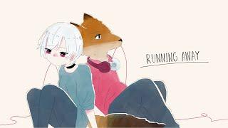 【キツネDJ】RUNNING AWAY feat. ミディ  (Lyric Video)