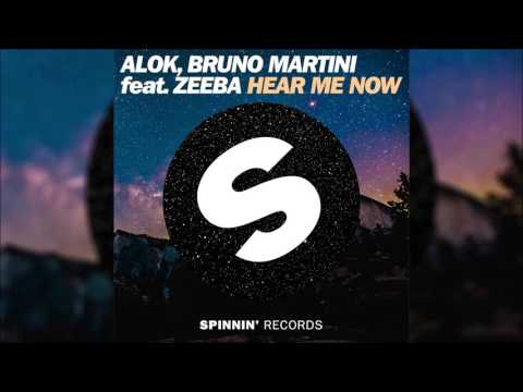 ALOK BRUNO MARTINI feat ZEEBA - Hear Me Now Original Radio Edit
