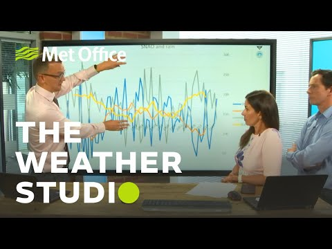 Thunderstorms, Is August a Wetter Summer Month? - The Weather Studio Live