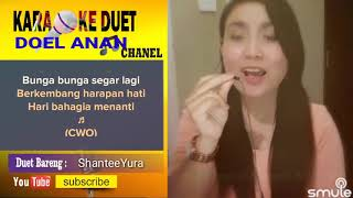 Setangkai Anggrek Bulan Karaoke Smule Feat ShanteeYura