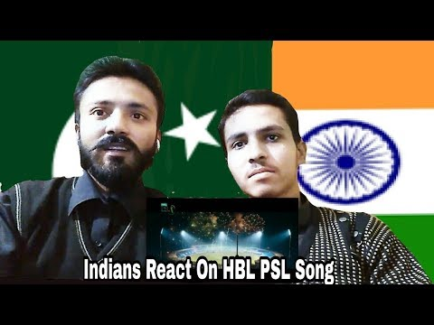 Indians React On PSL Official Song 2018 Dil se jaan laga de Ali Zafar | PSL