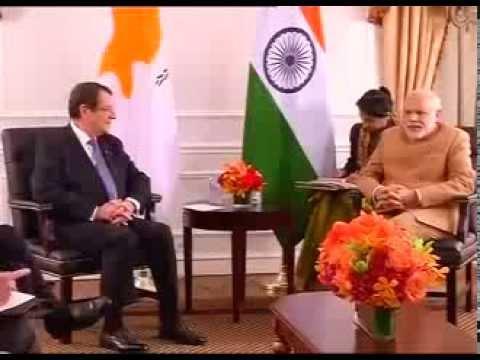 PM Modi meets President of Cyprus, Nicos Anastasiades in New York