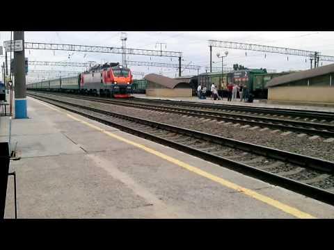 Станция Придача. Воронеж. Поезд 144Ч/143С Москва - Кисловодск