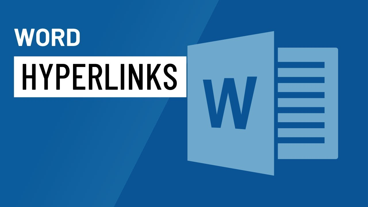 Word 2016: Hyperlinks