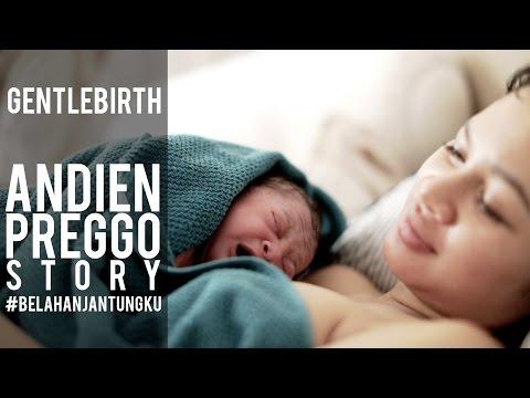 ANDIEN PREGGO STORY - CERITA KELAHIRAN KAWA