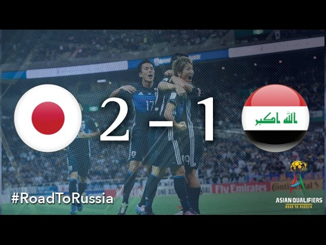 Video: Nhật Bản vs Iraq