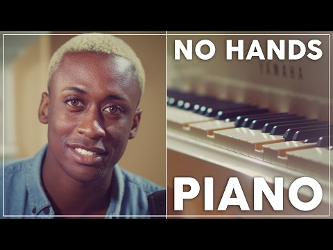 Play That Song  Train  PLAYING PIANO W NO HANDS!!