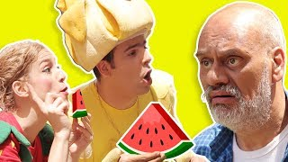 فوزي موزي وتوتي – عالسكّين يا بطيخ – Watermelon seller