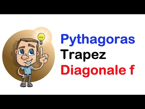 pythagoras trapez diagonale f youtube. Black Bedroom Furniture Sets. Home Design Ideas