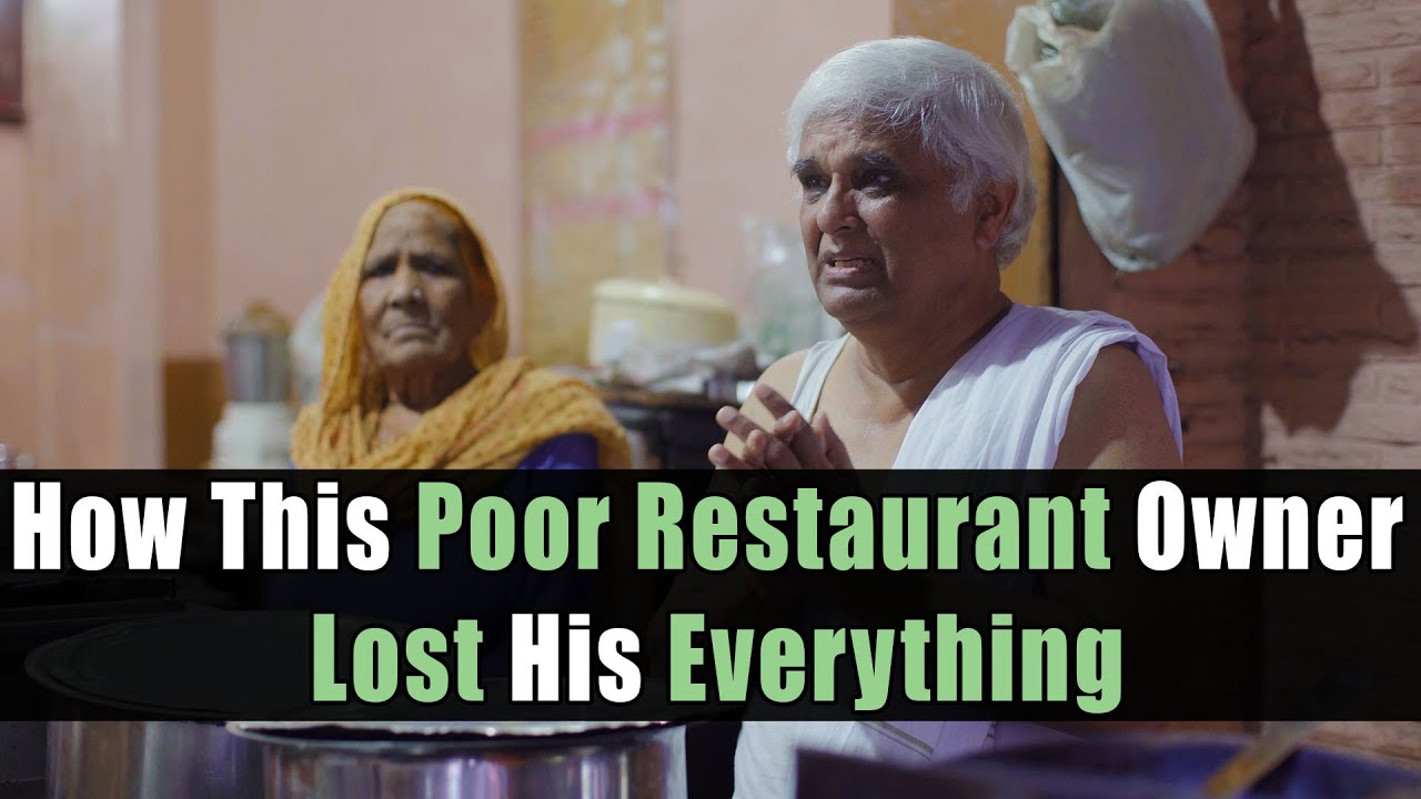 How This Poor Restaurant Owner Lost His Everything | Nijo Jonson | Motivational Video